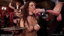 Big boobs redhead MILF Syren de Mer and brunett...