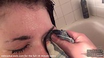 hot des moines spinner showering then getting t...