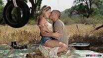 Mia Makova and Xander Corvus outdoor sex
