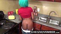 HD Msnovember Sex On Kitchen Counter With Juicy...