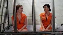 Big tits dominant blonde prison guard Cherry To...