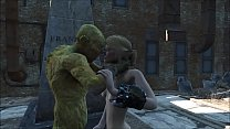 Fallout 4 Surprise at the cemetery