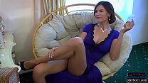 Big boobs Russian MILF shows off her amazing body