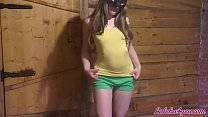 Bunny Sloppy Blowjob and Doggystyle Fuck in Bat...