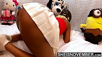 Sniff My Sweet Black Pussy And Derrière Through...
