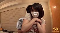 Super cute asian girl at our film scene- full v...