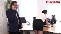 LETSDOEIT - German Office Girl Coco Kiss Has So...