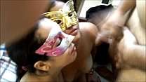 Real exchange of couples PART 2 / Facial Cumsho...