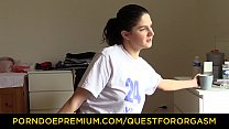 QUEST FOR ORGASM – Intense vibrator orgasm for ...