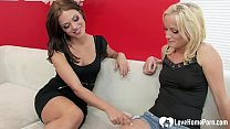 Upon making each other extremely wet, they deci...