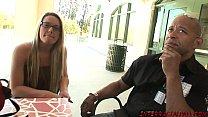 Big boob college girl Megan Reece taking Blackzilla cock stuffing Thumbnail
