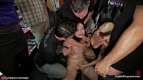 Blonde mistress Lorelei Lee fingers pussy to br...
