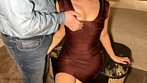 luxury escort girl in bodycon hotel sex