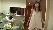 Fucking with a_hot japanese chick in her house while her husband is drunk Thumbnail