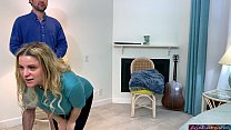 Watch Stepmom tries to make a workout film but ends up fucking her stepson preview