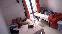 Lola wants to have a threesome with her 2 roomm...