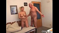 Filthy barely legal blonde Natalie with impress...
