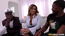 Busty Cougar Aubrey Black Has Rough Interracial...