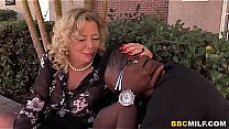 Watch Milf takes big black cock with pleasure (Cougar Karen, Summer Tries) BBC preview