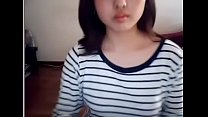 Korean with tight pussy is touched on webcam - ...