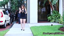 Big Titted Cougar Sara Jay Pays Her Uber Driver...