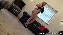 Busty British BBW Ellie Roe changing into her s...