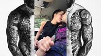 Bad Lady Sex Car follada en el coche en plena d...