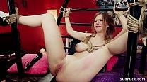 Natural big tits blonde teen Stella Cox loves t...