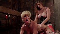 Big tits dom lesbian spanking big tits Milf in ...