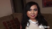 Erica Has Her Chunky Asian Body Covered With Sp...