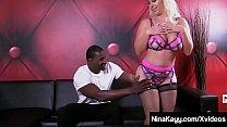 Big Booty Babe Nina Kayy loves getting her tigh...