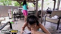 BANGBROS - Latin Housekeeper Gives Me Blowjob W...