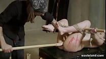 Lesbian Bondage And Domination With Wax Play An...