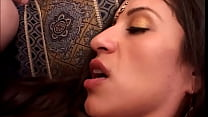 Indian cutie is afraid of her farther, but to h...
