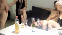 ORGY, PARTY, WE PLAY DICE THE EXCHANGE OF COUPL...