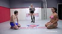 Miss Demeanor naked sex fight domination agains...