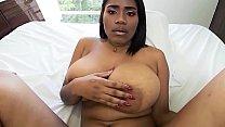 Big Tits Big Ass Brown Latina Riding - VR