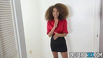Little hottie real estate agent breaks up with ...