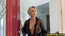 Rich mature lesbian has sex with her unfaithful...