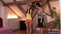 Horny old mom bang teen with dildo