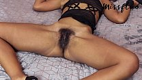 hairy pussy young girl cum 2 times in a row