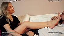Cute Feet Licking Femdom
