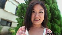 Japanese MILF Gets A Creampie