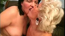 Ugly old grannies having lesbian sex