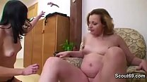Watch 9 Month Pregnant Mom Seduce 18yr old Teen to Fuck preview