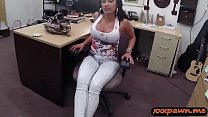 Sexy big breasts latin babe sucks off and gets ...
