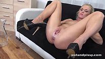 Wetandpissy - Angella plays and pees everywhere