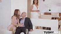 TUSHY Riley Reid and Adriana Chechik anal gapes