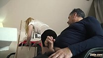 Teen wants old man to put his dick inside her a...