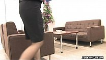 Watch Asian office worker rubs her wet pussy up preview
